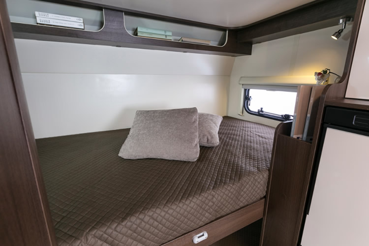 Zefiro 675 Rear Bedroom